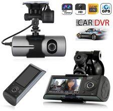 TELECAMERA AUTO DVR VIDEO REGISTRATORE GPS DOPPIA CAMERA HD VIDEOCAMERA MONITOR