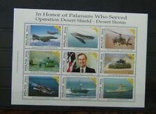 Palau 1991 Operation Desert Storm Liberation of Kuwait Miniature Sheet MNH