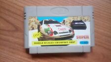 Exciting Rally World Rally Championship, cartucho para compatibles Nintendo NES