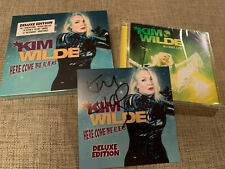 KIM WILDE - HERE COME THE ALIENS DELUXE + LIVE - 4 x CD SET + PROMO SIGNED CARD