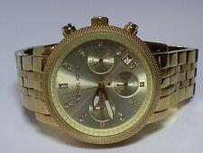 Michael Kors MK5676 Golden Ritz Chronograph Women's Gold Toned Steel Watch