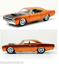 JADA FAST & FURIOUS 7 DOM'S 1970 PLYMOUTH ROAD RUNNER 1/24 NEW WITHOUT BOX 97127
