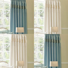 Polycotton Contemporary Solid Ready Made Curtains & Pelmets