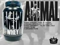 Universal ANIMAL WHEY Isolate Blend Protein 2 lbs, 28 Serves BROWNIE BATTER SALE