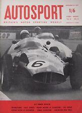 AUTOSPORT magazine 20/9/1957 Vol.15, No.12