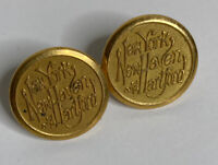 2 New York New Haven And Hartford Railroad Jacket Buttons Scovill Mfg Company