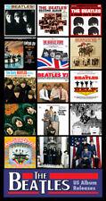 "BEATLES U.S. Albums album cover discography magnet (3.5"" X 4.5"") beatlemania"
