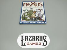 Nexus - Live Action Roleplaying: Play This Book Volume One (Chaosium 6500)