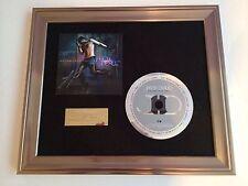 SIGNED/AUTOGRAPHED JASON DERULO - FUTURE HISTORY CD FRAMED PRESENTATION