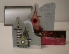 Nordstrom Lisa Evans Bird Gift Card Set w/Box Greeting Card No Value ReloadableA
