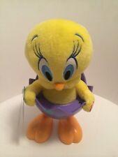 2014 Hallmark Tip 'N' Fall Tweety - Looney Tunes Easter Spring Techno Plush Egg