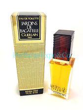 JARDINS DE BAGATELLE Perfume Guerlain 1.0oz Eau De Toilette SPRAY VINTAGE (B9