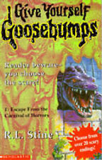 Escape from the Carnival of Horrors (Give Yourself Goosebumps), R.L. Stine | Pap