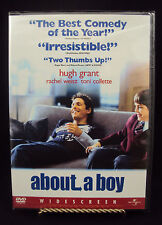 About a Boy (DVD, 2003, Widescreen) BRAND NEW DVD Free Shippng in the USA