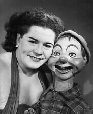 OLD TV RADIO PHOTO Ventriloquist Bobbie Kimber & her puppet 2