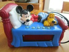 New listing Vintage Mickey Mouse And Pluto Alarm Clock