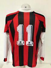 maglia calcio Royal vintage 11 rossoneri tag.M home shirt trikot maillot MC345