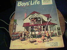 August 1960 Boy's Life John Sager, Rocket Belts, Build a solar radio set  s22