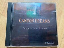 Tangerine Dream 'Canyon Dreams' OST Miramar CD