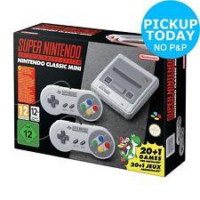 Nintendo Super Nintendo SNES Classic Mini Console. From Argos