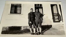 Rare Antique American World War I Military Soldiers! Sergeant Snapshot Photo! US