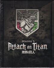 Attack on Titan Season Two Limited Edition (Blu-ray Disc/DVD, 2018, 4-Disc Set)