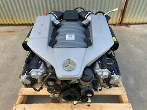 Mercedes Benz C63 AMG W204 Performance Pack Engine Motor M156 6.2L V8 64KMs