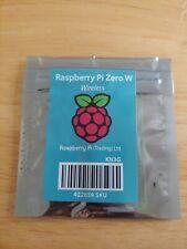 Raspberry Pi Zero W Wireless Bluetooth 4.1 WiFi Camera Ready 1 GHz 512mb USB