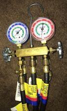 Ritchie Yellow Jacket HVAC refrigerant test & charging manifold gauge
