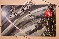 Custom Anime CARDFIGHT VANGUARD MTG WOW Playmat Six Samurai Kizan Mat #639