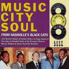 MUSIC CITY SOUL FROM NASHVILLE'S BLACK CAT'S  NEW CD (KENT) NORTHERN SOUL 60s