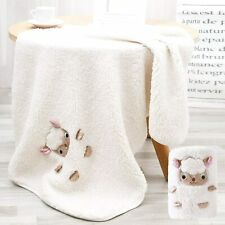 Baby Blankets, Soft Baby Crib Blankets for Boys and Girls, Fleece Baby Blankets