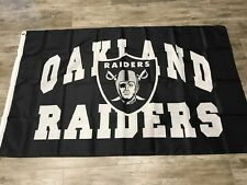 Oakland Raiders 3X5 Oakland Nation Flag Same Day Ship From California Las Vegas
