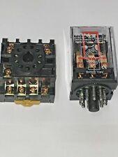 Mk3p I Mk3p Dc 12vdc Relay 11 Pin 10a 250v Ac With Socket Base