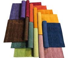 Orientteppich Handgewebt Gabbeh Teppich 100% Wolle Handloom Brücke Fussmatten