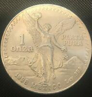 1988 libertad coin nice.999 silver,writting on coin edge  88-27