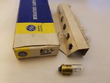 Box of 4 General Electric GE 1822 GE1822 Miniature Lamps Light Bulbs 36V 0.1A