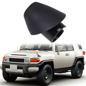 Antenna Bezel Ornament Manual Mounted Fender Base Fit Toyota FJ Cruiser 2007-14