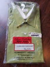 T-75 true vintage Richman brothers long sleeve shirt 16.5-32 USA rich bright