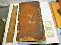1862 to 1863 Baltimore & Ohio Railroad Passengers Tonnage & Thro Tickets Journal