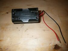 BATTERY BOX /HOLDER  for 4 AA BATTERIES-receiver powerpack-Tamiya kyosho nitro