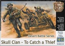 1/35 Master Box 35140 - Skull Clan - To Catch a Thief - 3 figures & Cycle