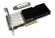 Silicom PE310G4SPI9L-SR 10 Gigabit 10GBe 4x SFP+ Quad Port Server Adapter Intel