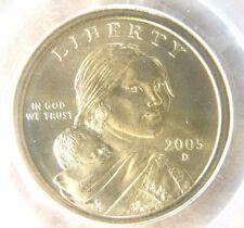 2005-D Native American Dollar PCGS MS 68 Satin Finish Cert# 73706322