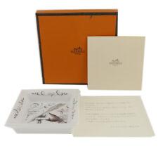 Authentic Hermes Ashtray Anne De La Main Vip Limited White Pottery #f42657