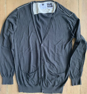 Analog Cardigan Sweater - Black - Men's Largest