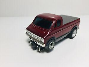 "AFX AURORA~CUSTOM~ DODGE STREET VAN Pick-up ""WICKED""  Model Motoring HO  L@@K!"