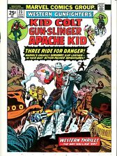 Western Gunfighters 23 COVER PROOF ART Kid Colt, Apache, Gun-Slinger MARVEL 1974