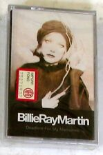 BILLIE RAY MARTIN - DEADLINE FOR MY MEMORIES -  Cassette Tape MC K7 Sealed