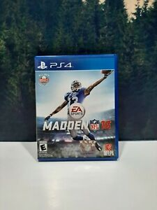 Madden NFL 16 Sony PlayStation 4 PS4 Game